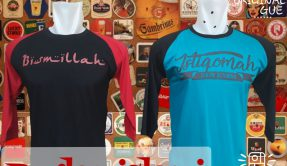 Grosir Baju Distro Cimahi Murah Konveksi Kaos Distro Raglan Islami Dewasa Murah Bandung 30Ribu