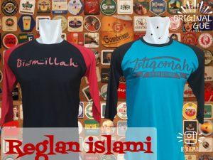 Grosir Baju Distro Cimahi Murah Pusat Grosir Kaos Raglan Islami Dewasa Murah Bandung