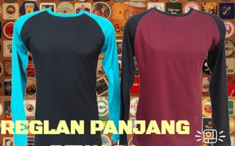 Grosir Baju Distro Cimahi Murah Supplier Kaos Raglan Panjang Dewasa Murah Bandung 32Ribu