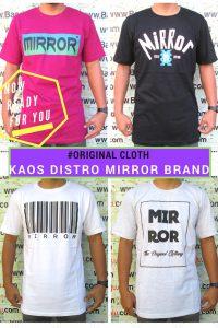 Grosir Baju Distro Cimahi Murah Pusat Grosir Kaos Distro Mirror Brand Dewasa Murah Bandung
