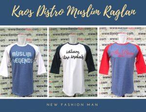 Grosir Baju Distro Cimahi Murah GROSIR Kaos Distro Muslim Raglan Dewasa Murah