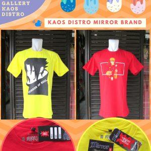 Grosir Baju Distro Cimahi Murah Produsen Kaos Distro Mirror Brand Dewasa Murah diBandung