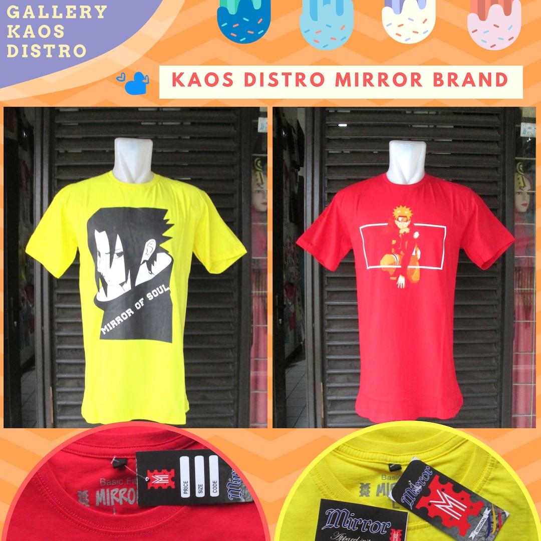 Grosir Baju Distro Cimahi Murah Konveksi Kaos Distro Mirror Brand Dewasa Termurah di Cimahi 34Ribu