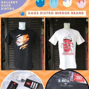 Grosir Baju Distro Cimahi Murah Kaos Distro Mirror Brand