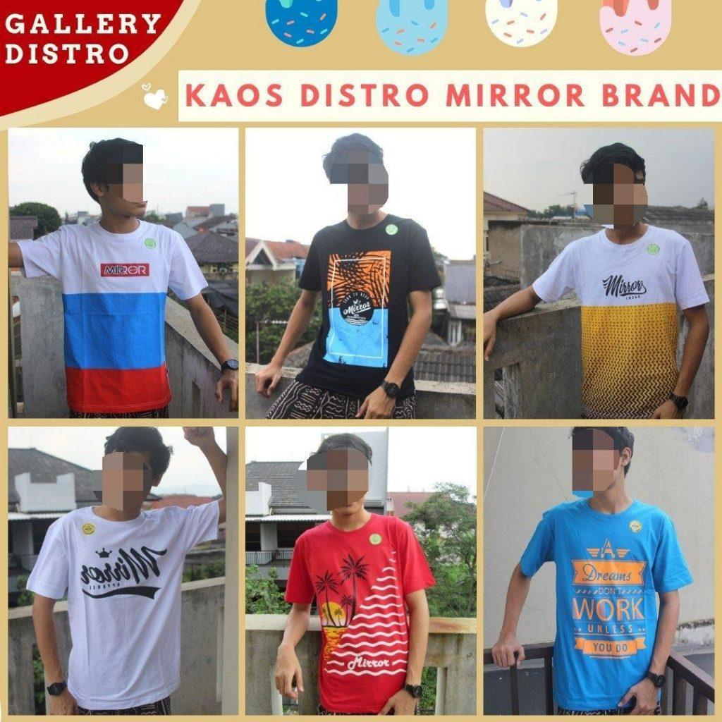 Grosir Baju Distro Cimahi Murah Produsen Kaos Distro Surfing Mirror Brand Dewasa Murah di Bandung 36Ribuan