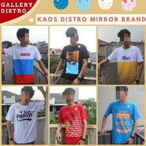 Grosir Baju Distro Cimahi Murah Konveksi kaos Distro Surfing Mirror Brand Murah di Bandung